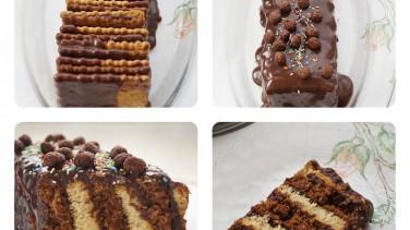 iki renkli bisküvili pasta tarifi