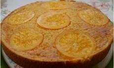 Portakal Soslu Kek – Orange Syrup Cake