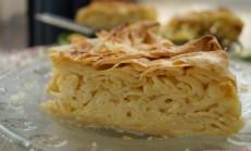 Fırında makarna (peynirli)