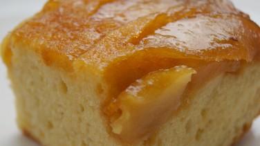 Elmalı karamelli tart kek