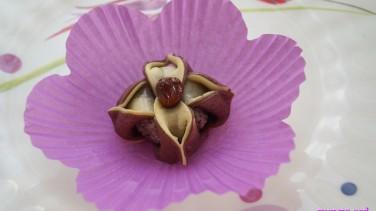 Yasemin çiçeği tatlısı tarifi (Jasmine flower cookies)