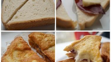 Yumurtalı kızarmış tost ekmeği tarifi