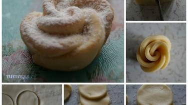 Gül Kurabiye Tarifi /Gül kurabiye nasıl yapılır ?