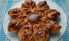 Çikolatalı Yıldız Çörek Tarifi ( videolu )