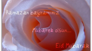 Ramazan bayramınız mubarek olsun