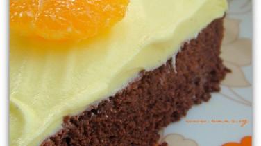 Mısırunlu mandalinalı kek