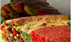 Gökkuşağı kek