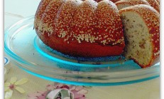 Susam mantolu tahinli kek tarifi