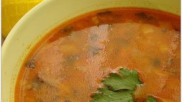 Kerevizli kış çorbası