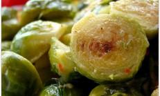 Terbiyeli brüksel lahanası