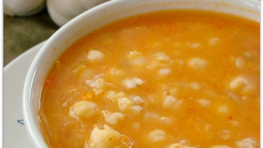 Sebzeli buğday çorbası