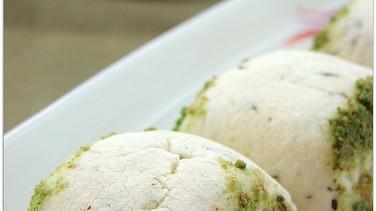 Yeşil çaylı kurabiye