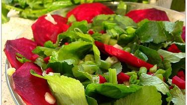 Su teresi salatası ve kavurması