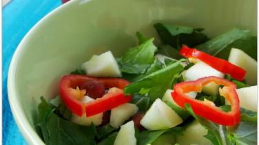 Ekşili kuzukulağı salatası