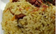 Patlıcanlı pilav (özbek pilavı) tarifi