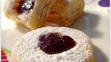Marmelatlı ve milföylü kurabiye