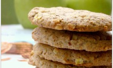 Yulaflı elmalı bisküvi