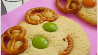Bonibonlu çocuk kurabiyesi