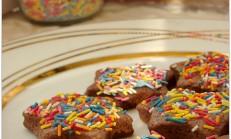 Kakaolu şeker kurabiye