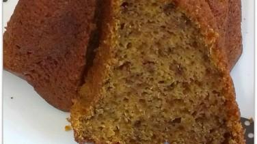 Balkabaklı zerdeçallı kek