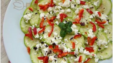 Kabak salatası (çiğ)