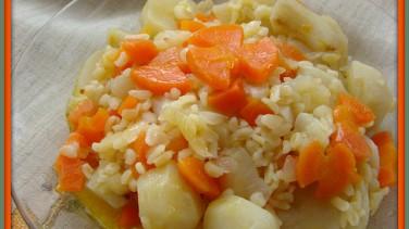 Bulgurlu ve greyfurtlu yerelması