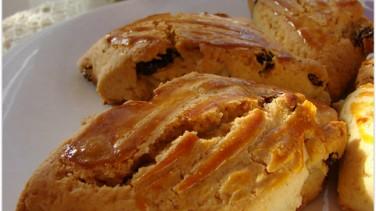 Kuru Üzümlü Pastane Kurabiyesi tarifi