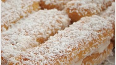 Kedi dili bisküvili  kolay pasta tarifi