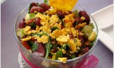 Meksika fasülye salatası