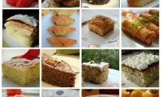 Şerbetli Tatlı Tarifleri 24 Adet  (bayram tatlıları)