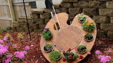 Bahçe Dekorasyonu Ve Düzenleme İçin Farklı Fikirler