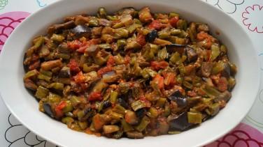 Biberli Patlıcan Kavurması Tarifi