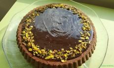 Karamelli Çikolatalı Tart Kek Tarifi